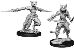 Picture of Dungeons and Dragons Nolzur's Marvelous Miniatures Female Tabaxi Rogue