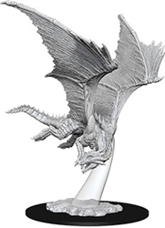 Picture of Dungeons and Dragons Nolzur's Marvelous Miniatures Young Bronze Dragon