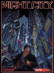 Picture of Cyberpunk 2020 RPG Night City HC