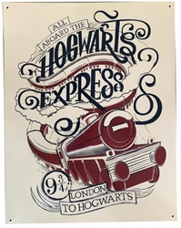 Picture of Harry Potter Hogwarts Express Metal Sign