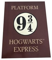 Picture of Harry Potter Platform 9 3/4 Metal Sign