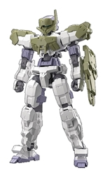 Picture of Close Combat Option Armor Dark Green 1/144 Model Kit