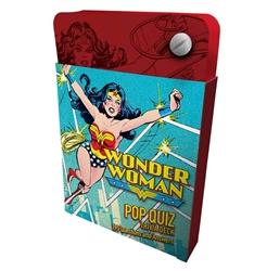 Picture of Wonder Woman Pop Quiz Trivia Deck
