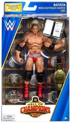 Picture of WWE Elite Collection Batista Hall of Champions Figure