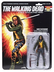 """Picture of Walking Dead Michonne Bloody Real Apocalypse Hero 6"""" Action Figure"""