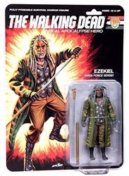 "Picture of Walking Dead Ezekial Real Apocalypse Hero 6"" Action Figure"