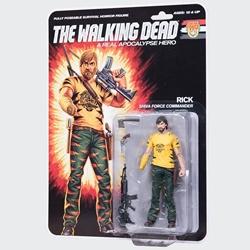 "Picture of Walking Dead Rick Real Apocalypse Hero 6"" Action Figure"