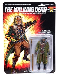"Picture of Walking Dead Ezekial Bloody Real Apocalypse Hero 6"" Action Figure"