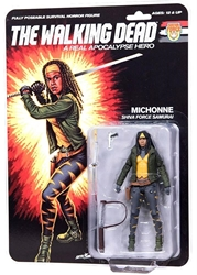 "Picture of Walking Dead Michonne Real Apocalypse Hero 6"" Action Figure"