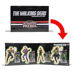 "Picture of Walking Dead Lucille Patrol Real Apocalypse Hero 5"" Action Figure 4-Pack"