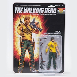 "Picture of Walking Dead Rick Bloody Real Apocalypse Hero 6"" Action Figure"