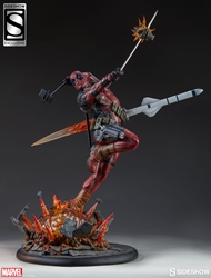Picture of Marvel Deadpool Heat Seeker Premium Format Statue Exclusive
