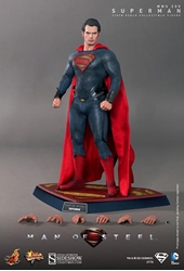Picture of Superman Man of Steel Sixth Scale Hot Toys Figure
