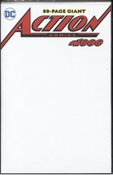 Picture of Action Comics #1000 Blank Cover