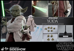 Picture of Star Wars Episode II Yoda Sixth Scale Figure