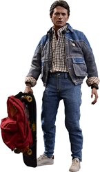 Picture of Back to the Future Marty McFly Sixth Scale Hot Toy Action Figure Exclusive