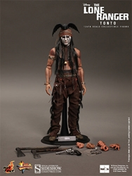 Picture of Lone Ranger Tonto Sixth Scale Hot Toys Figure
