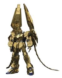 Picture of Gundam RX-0 Unicorn 03 Phenex Gold HG 1/144 Model Kit