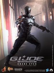 Picture of GI Joe Retaliation Snake Eyes Sixth Scale Figure
