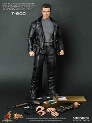 Picture of Terminator 2 Judgement Day T-800 Hot Toys Figure