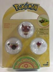 Picture of Pokemon Petite Pals Eevee Ball Set