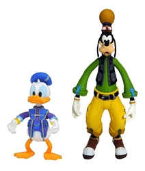 Picture of Kingdom Hearts 3 Goofy and Donald Select Action Figure