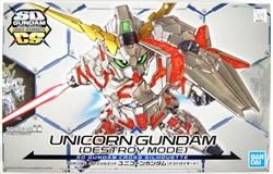 Picture of Gundam Unicorn Unicorn Gundam (Destroy Mode) SDGCS Model Kit