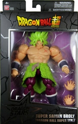 Picture of Dragon Ball Super Broly Super Saiyan Dragon Stars Action Figure