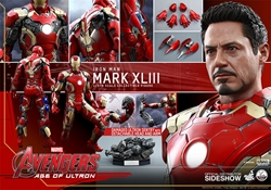 Picture of Iron Man Mark XLIII Age of Ultron - Hot Toys- Fourth Scale Figure
