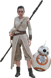 Picture of Star Wars Rey and BB-8 Sixth Scale Hot Toys Figure 2-Pack