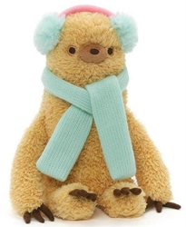 "Picture of Winter Sloth 8"" Plush"