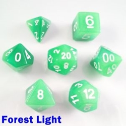 Picture of Forest Light Dice Set