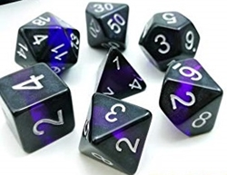Picture of Amethyst Mineral Rocks Dice Set