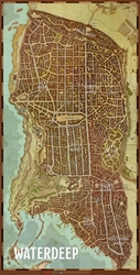 Picture of Dungeons and Dragons RPG Waterdeep City Map