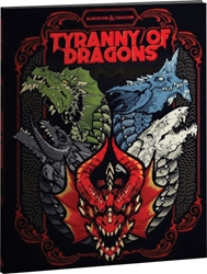 Picture of Dungeons and Dragons RPG Tyranny of Dragons Alternate Cover