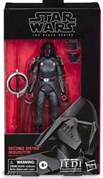"""Picture of Star Wars Second Sister Inquisitor Black Series 6"""" Figure"""