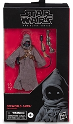 "Picture of Star Wars Offworld Jawa Black Series 6"" Figure"