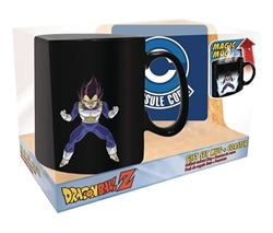 Picture of Dragon Ball Z Vegeta Heat Changing Mug and Coaster Gift Set