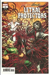 Picture of Absolute Carnage Lethal Protectors #1 Keown 1:50 Variant Cover