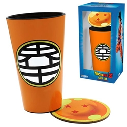 Picture of Dragon Ball Z Pint Glass and Coaster Gift Set