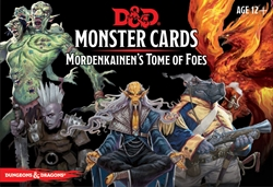 Picture of Dungeons and Dragons RPG Monster Cards Mordenkainen's Tome of Foes Card Set