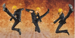 Picture of One Piece Black Leg Sanji FiguartsZero Figure