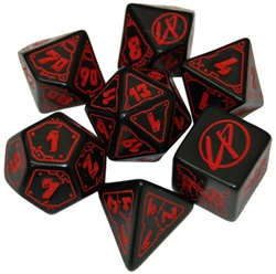 Picture of Cyberpunk RPG Dice Set