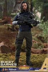 Picture of Winter Soldier Bucky Barnes Infinity War Hot Toys Action Figure