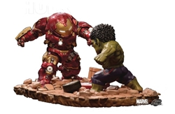Picture of Iron Man Hulkbuster vs Hulk Avengers Age of Ultron Statue