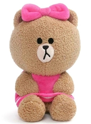"Picture of Line Friend Choco 7"" Plush"