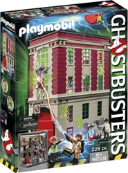 Picture of Ghostbusters Firehouse Playmobil Set