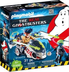 Picture of Ghostbusters Stantz with Skybike Playmobil Set
