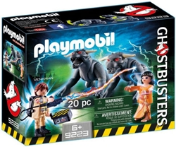 Picture of Ghostbusters Venkman and Terror Dogs Playmobil Set