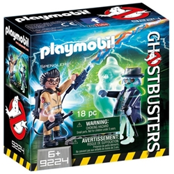 Picture of Ghostbusters Spengler and Ghost Playmobil Set